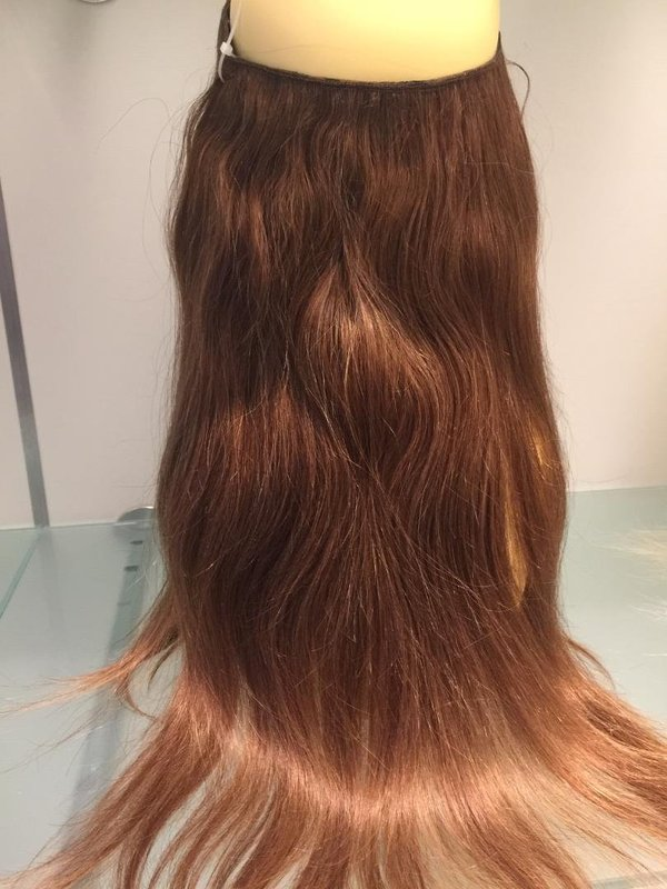 Flip Clip in Hair/Halo Hair Extensions 50 cm, in 4 Farben vorrätig